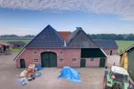 Zieuwent - Renovatie dak achterhuis, Grobbenweg 9