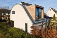 Doetinchem - Verbouwing bergruimte met gebogen dak, Tijmveld 2